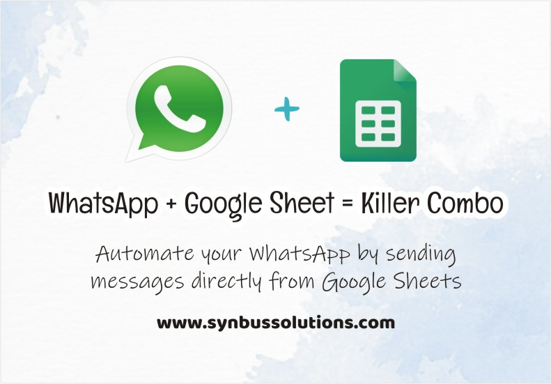 Send WhatsApp Message from Google Sheets