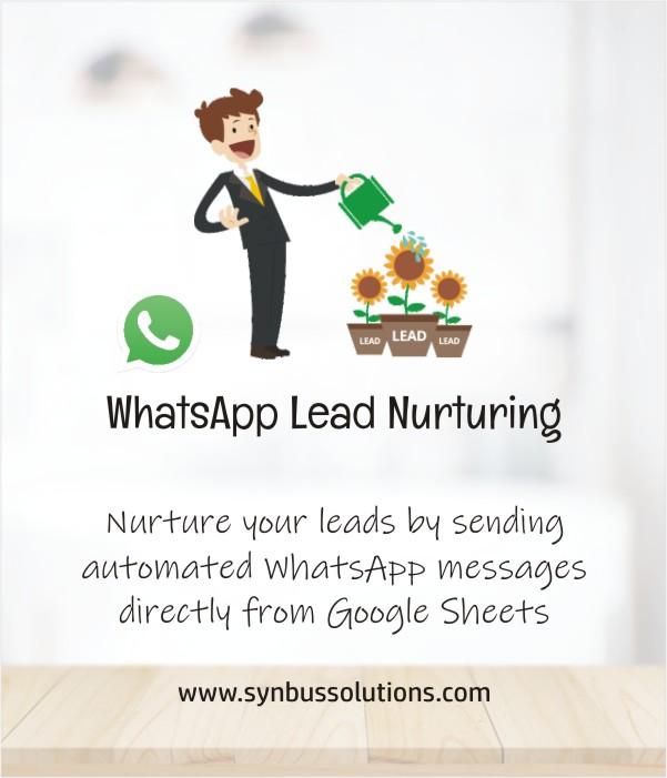 whatsapp lead nurturing