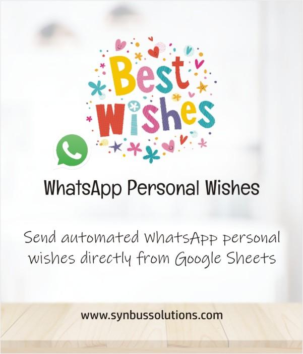 whatsapp personal wishes
